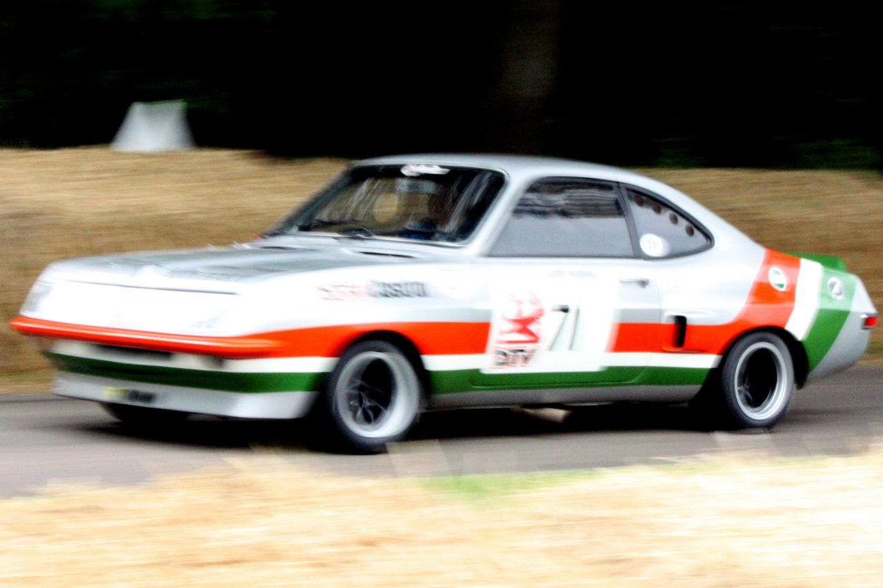 Vauxhall Firenza, Gregor Marshall, Goodwood, Festival of Speed
