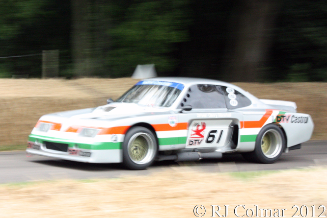 Vauxhall Holden Repco Firenza, Piers Ward, Goodwood Festival of Speed,