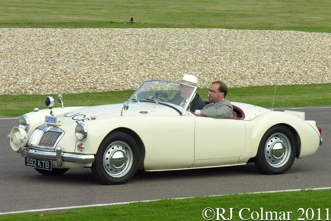 MG A 1600 Roadster, Goodwood, Revival
