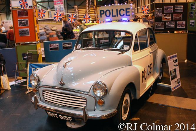 Morris Minor, Classic Motor Show, NEC, Birmingham,