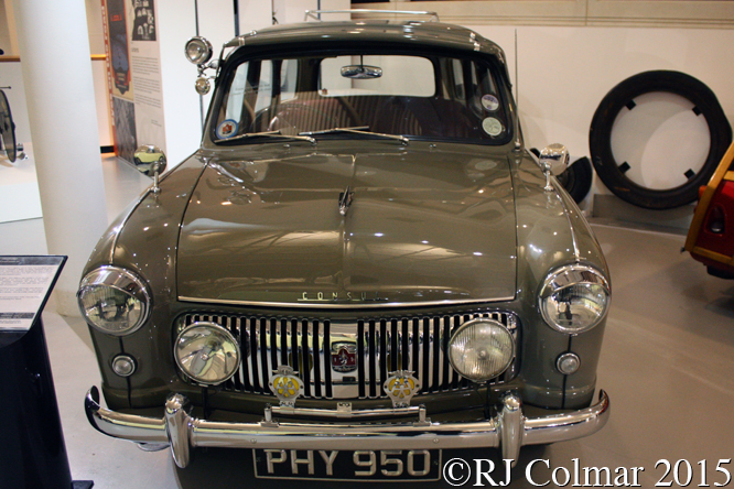 Ford Consul Mk1 Abbot Estate, The Heritage Motor Centre, Gaydon