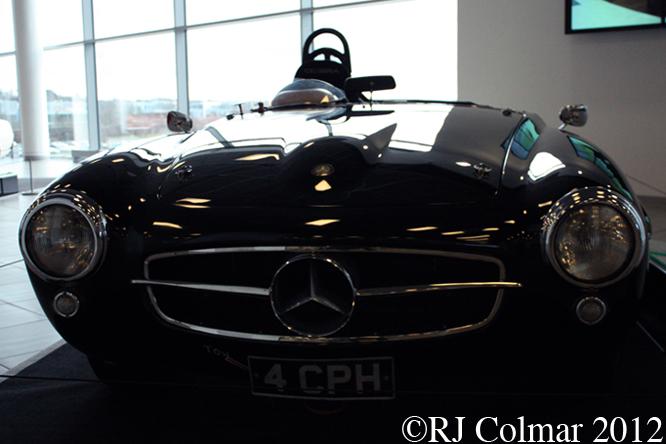 Mercedes Benz W121 B2 190 SLR, Mercedes Benz World, Brooklands,