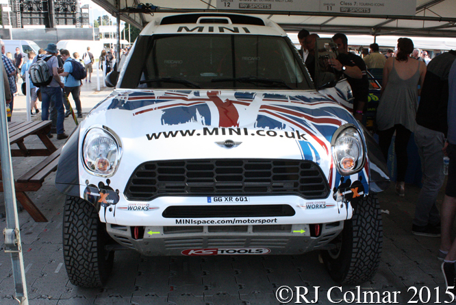 Mini Cooper Countryman ALL4 Racing, Goodwood, Festival of Speed.co.uk