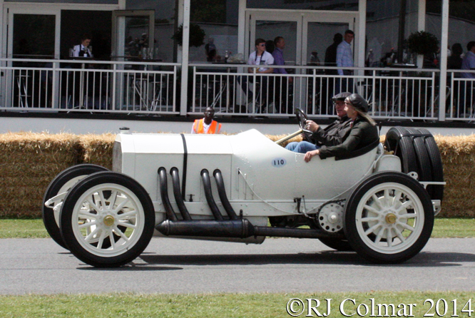Mercedes Grand Prix, Martin Viessmann, Goodwood Festival of Speed,