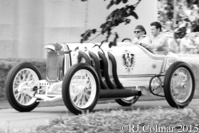 Benz 200hp Reconstruction, Bill Evans, Goodwood, Festival Of Speed,