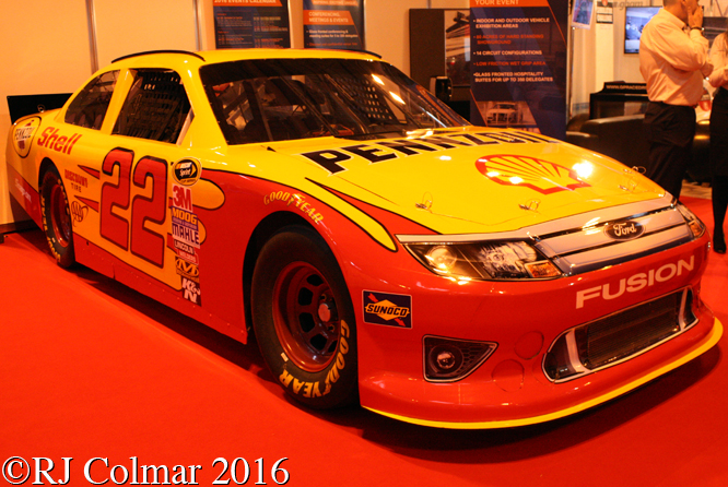 Ford Fusion, Autosport International, Birmingham NEC,