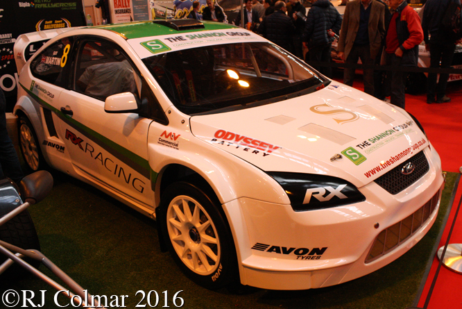 Ford Focus WRC, Autosport International, Birmingham NEC,