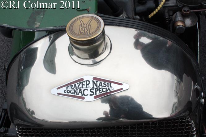 COGNAC Frazer Nash Special, Mallory Park,