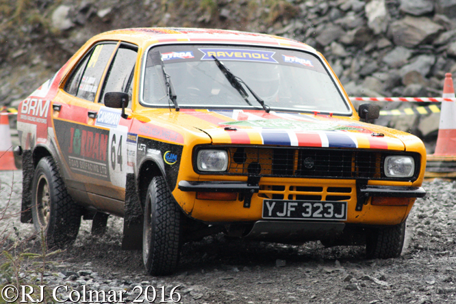 Hillman Avenger, Barry Jordan, James Gratton-Smith, Penmachno, Cambrian Rally,