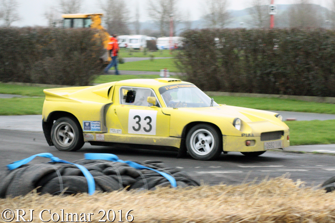 Darrian T9, John Lewis / Paul Jones, Brean Stages Rally, Brean Leisure Park,