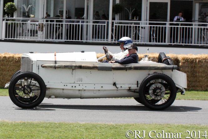 Mercedes 18/100, Jochen Mass, Goodwood Festival of Speed