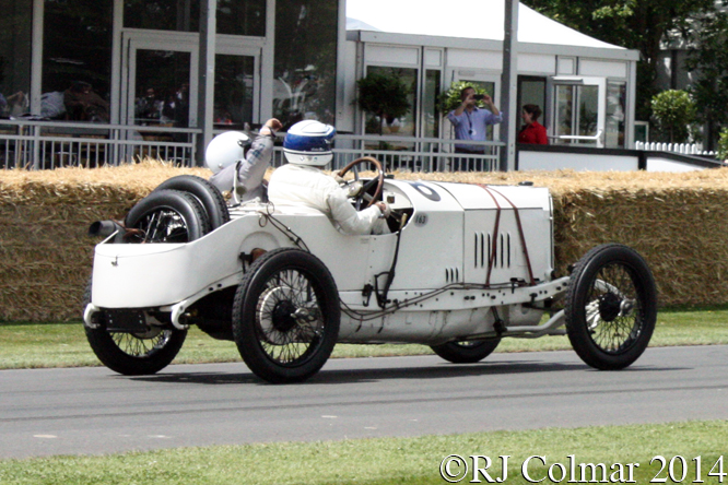 Mercedes 18/100, Jochen Mass, Goodwood Festival of Speed