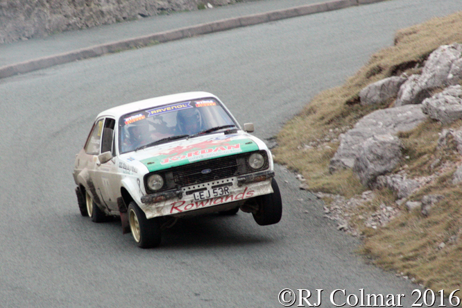 Ford Escort L, John Rowlands, Glenn Latham, Great Orme, Cambrian Rally,