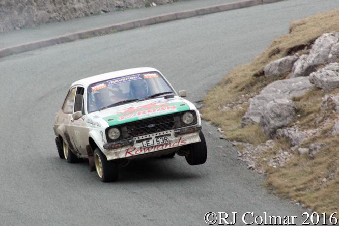 Ford Escort L, John Rowlands, Glenn Latham, Great Orme, Cambrian Rally,