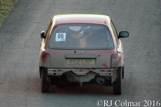 Nissan Micra Tropic, Niel Andrew, Dominic Adams, Great Orme, Cambrian Rally,