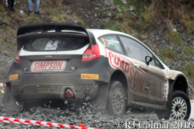 Ford Fiesta S2000, Charles Payne, Carl Williamson, Penmachno, Cambrian Rally,