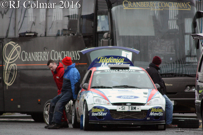 Ford Focus WRC, ABP Fleetwood Docks Special Stages