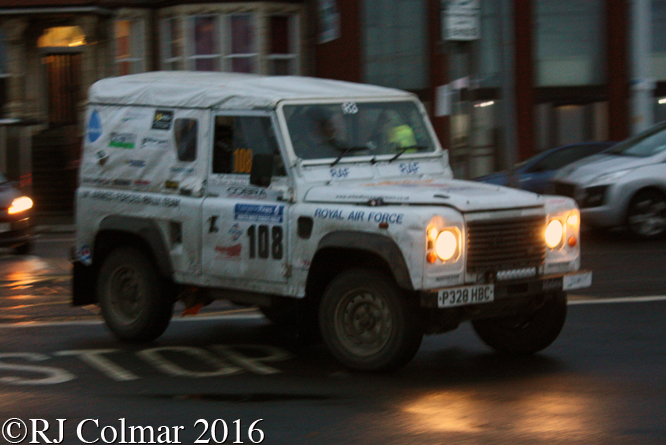 Land Rover Wolf XD, John Hickinbotham, Scott Young, Legend Fires North West Stages, Blackpool Promenade,