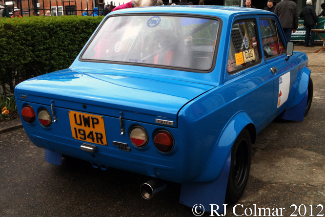 FIAT 128 Rally, Auto Italia, Brooklands
