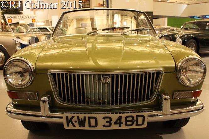 MG Longbridge ADO 34, British Motor Museum, Gaydon,