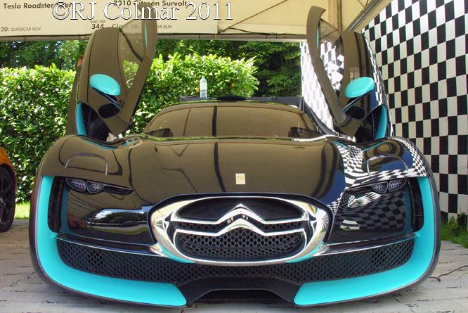 Citroën Survolt, Goodwood, Festival of Speed,