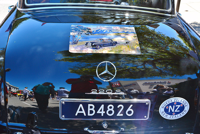 Mercedes Benz W180 220S, The Little Car Show, Pacific Grove, CA