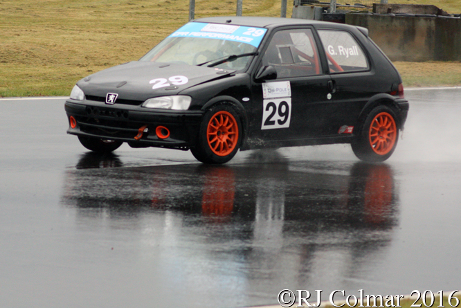 Peugeot 106 GTi, Geoffrey Ryall, Castle Combe,