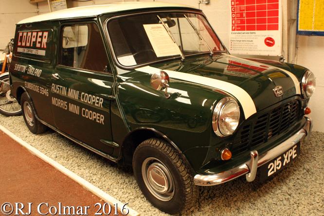 Austin Mini 5cwt Van, Atwell Wilson Motor Museum, Calne