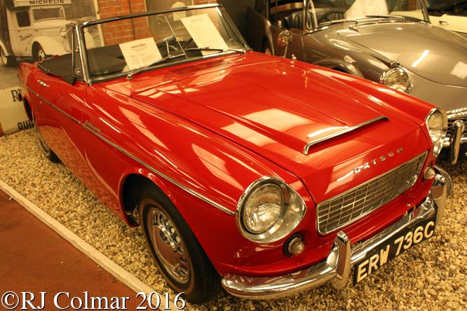 Datsun Fairlady 1500, Atwell Wilson Motor Museum, Calne