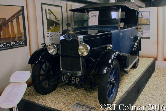 Clyno Royale, Atwell Wilson Motor Museum, Calne