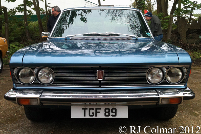 FIAT 130 Berlina Type B, Auto Italia, Brooklands,