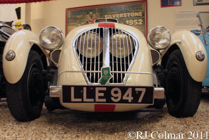 Healey Silverstone, Haynes International Motor Museum, Sparkford, Somerset