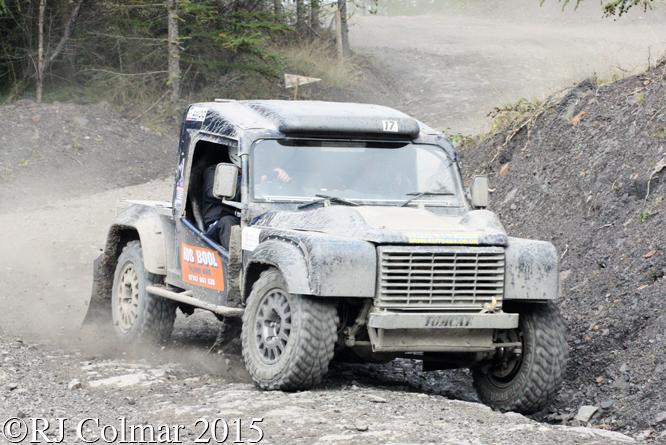 Land Rover Tomcat, Rob Bool, Walters Arena, Neath