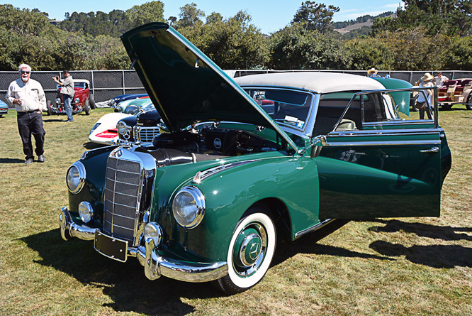 Mercedes-Benz (W186 II) Typ 300, Quail Lodge, California,