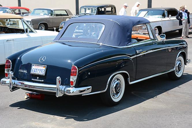 Mercedes 220SE Cabriolet, Palo Alto Concours d'Elegance