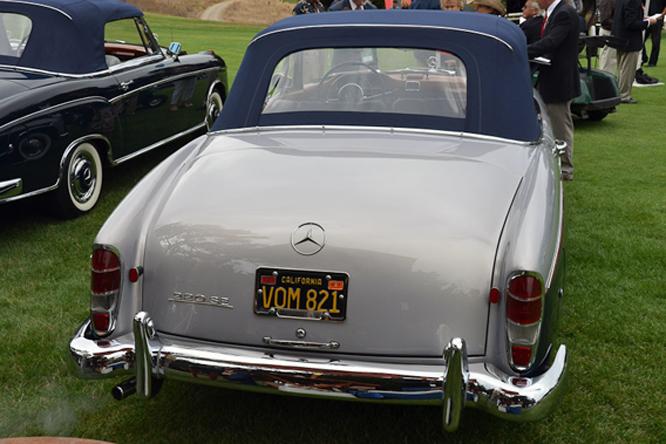 Mercedes Benz 220SE, Hillsborough Concours d'Elegance