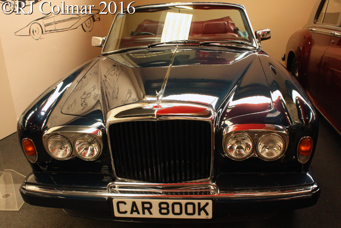 Bentley Continental, Haynes International Motor Museum, Sparkford, Somerset,