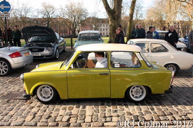 Trabant 601, Avenue Drivers Club, Queen Square, Bristol