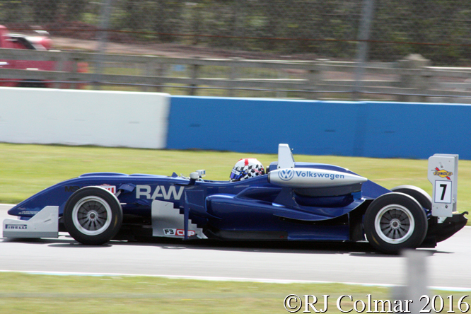 Dallara F308 VW, Robbie Watts, Donington Park