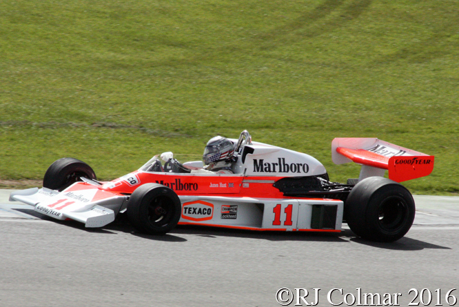 McLaren Ford M23, Scott Walker, Donington Park