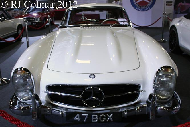Mercedes Benz 300 SL, Classic Motor Show, NEC, Birmingham