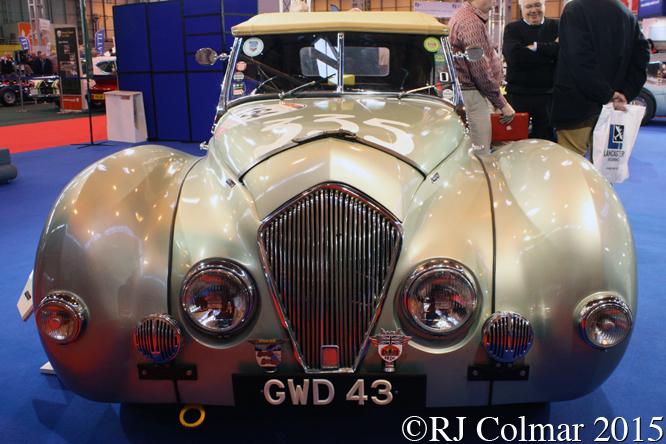 Healey Westland, Classic Motor Show, NEC, Birmingham