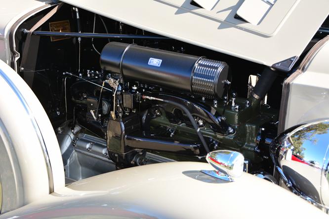 Packard 1104 Super Eight Phaeton, Niello Concours at Serrano