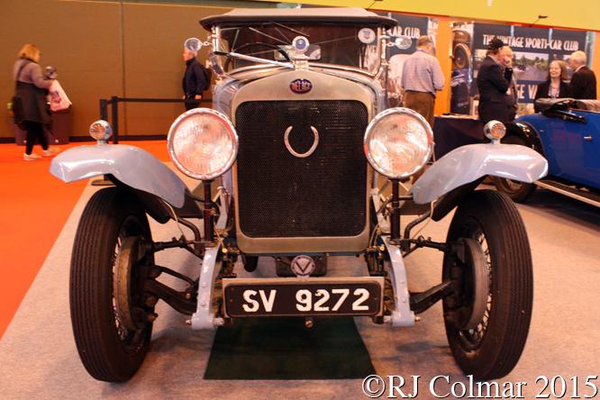 Delage DIS Colonial Tourer, Classic Motor Show, NEC, Birmingham