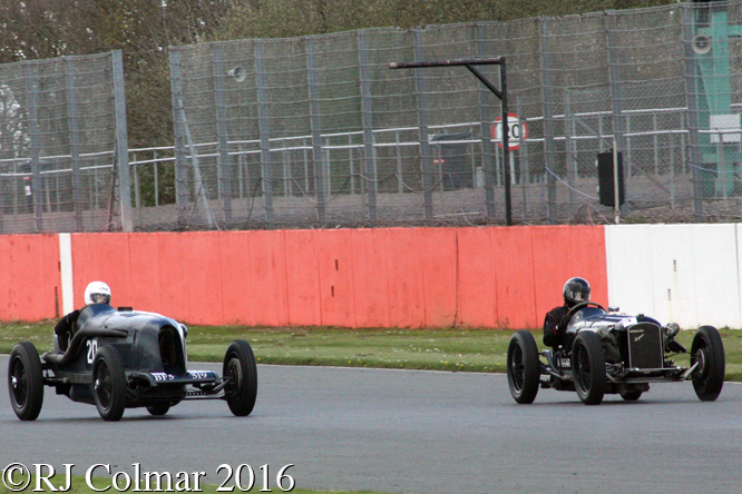 Amilcar Hispano Special, Tom Walker, VSCC Spring Start, Silverstone