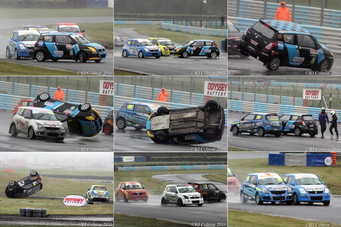 Swift Sport Championship, Odyssey Battery, MSA Rally Cross Championship, Pembrey