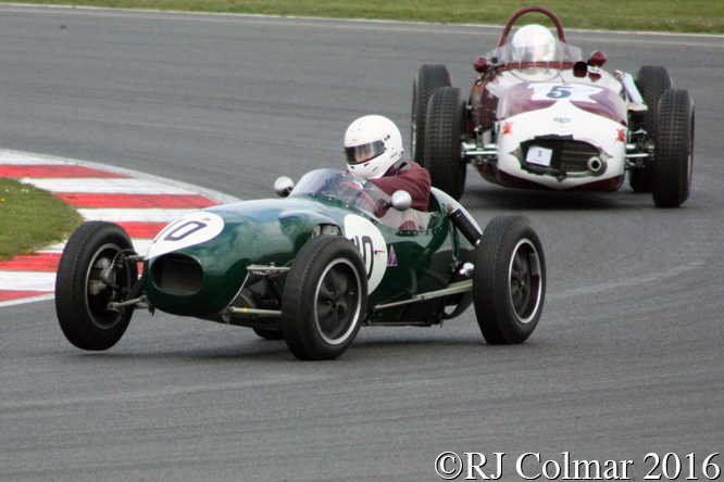 Lotus 12, Andrew Smith, VSCC Spring Start, Silverstone