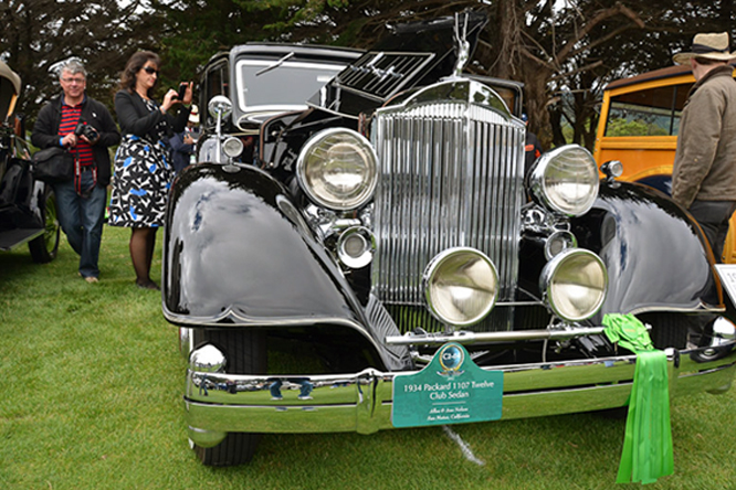 Packard 1107 12 Club Sedan, Hillsborough Concours d'Elegance
