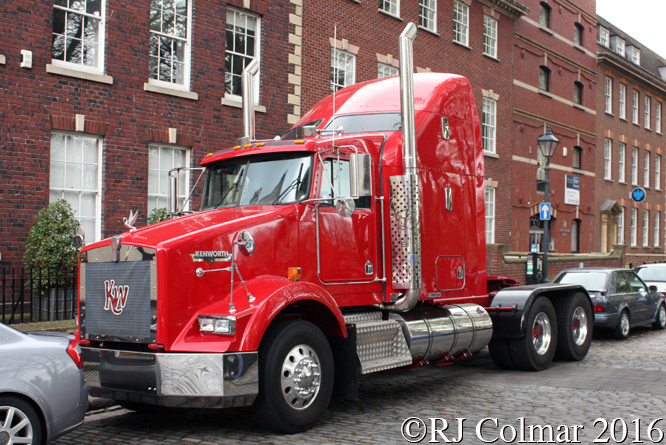 Kenworth, Avenue Drivers Club, Queen Square, Bristol,