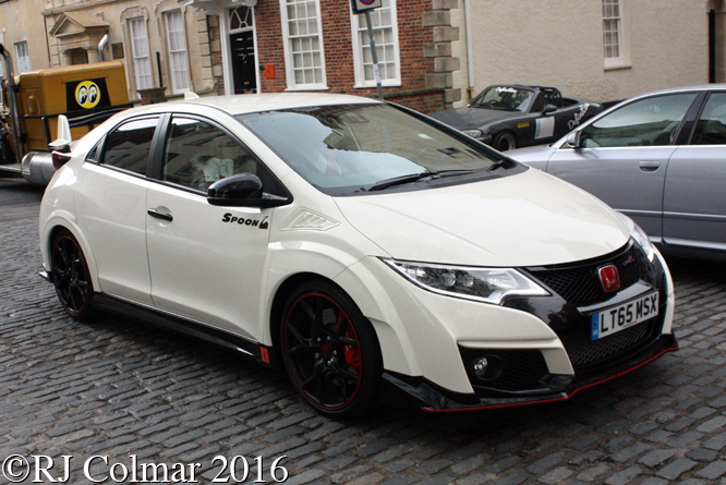 Honda Civic Type R, Avenue Drivers Club, Queen Square, Bristol,